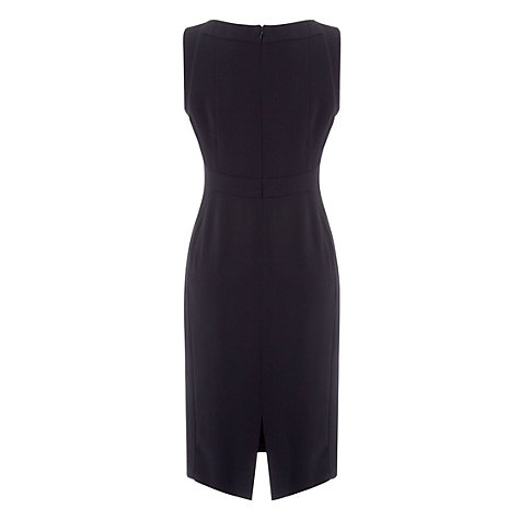 Buy Hobbs Millais Dress, Navy Online at johnlewis.com