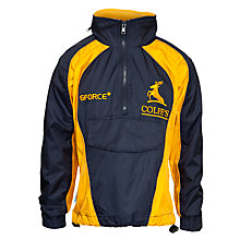 Buy Colfe's School Unisex Tracksuit Top, Navy Blue/Gold Online at johnlewis.com