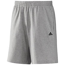 Buy Adidas Essentials Heavy Single Jersey Shorts Online at johnlewis.com