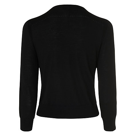 Buy L.K. Bennett Breena Crew Neck Cardigan Online at johnlewis.com