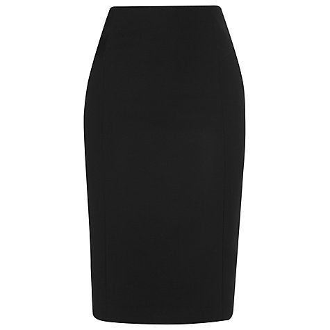 Buy L.K. Bennett Jodie Fitted Dress, Black Online at johnlewis.com