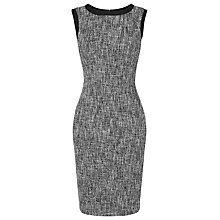 Buy L.K. Bennett Julie Tweed Dress, Black Online at johnlewis.com