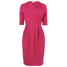 Buy L.K. Bennett Freoss Wrap Dress, Crimson Online at johnlewis.com