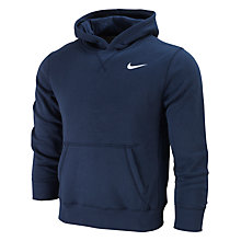Buy Nike Boy's Young Athletes 76 Hooded Fleece, Blue Online at johnlewis.com