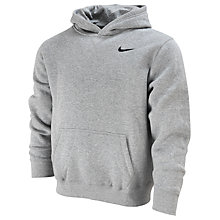 Buy Nike Boy's Young Athletes 76 Hooded Fleece, Grey Online at johnlewis.com
