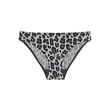 Buy Stella McCartney Stella Briefs, Grey Leopard Online at johnlewis.com