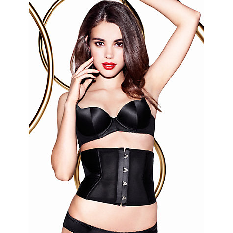 Buy L'Agent by Agent Provocateur Penelope Moulded Balcony Bra, Black Online at johnlewis.com