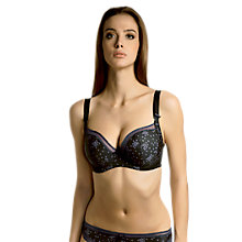 Buy Freya Marvel Underwired Bra, Black Online at johnlewis.com