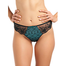 Buy Fantasie Elodie Thong, Teal Online at johnlewis.com