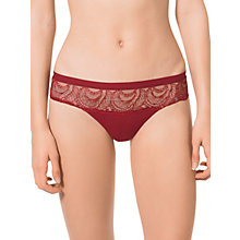Buy Calvin Klein Emotion Briefs, Red Online at johnlewis.com