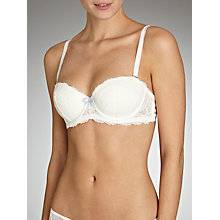 Buy COLLECTION by John Lewis Lana Lace Bridal Full Cup Bra, Ivory Online at johnlewis.com