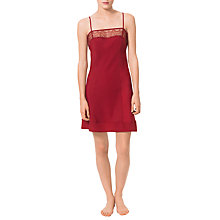 Buy Calvin Klein Emotion Chemise, Red Online at johnlewis.com