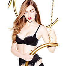 Buy L'Agent by Agent Provocateur Simona Padded Bra, Black Online at johnlewis.com