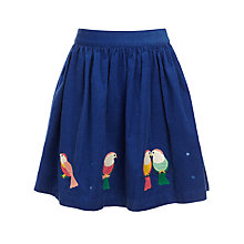 Buy John Lewis Girl Birds Corduroy Skirt Online at johnlewis.com