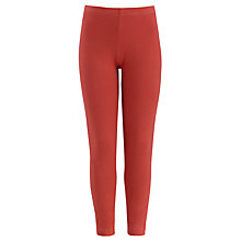 Buy Kin by John Lewis Girls' Leggings, Red Online at johnlewis.com