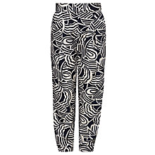 Buy Kin by John Lewis Girls' Wave Print Trousers, Navy Online at johnlewis.com