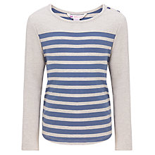 Buy John Lewis Girl Breton Stripe Long Sleeve Top Online at johnlewis.com