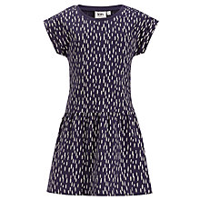 Buy Kin by John Lewis Girls' Dropwaist Dress, Purple Online at johnlewis.com