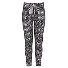 Buy John Lewis Girl Geometric Print Leggings Online at johnlewis.com