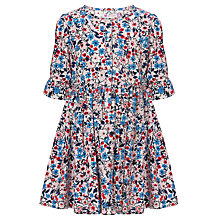 Buy John Lewis Girl Ditsy Dress, Cream/Multi Online at johnlewis.com