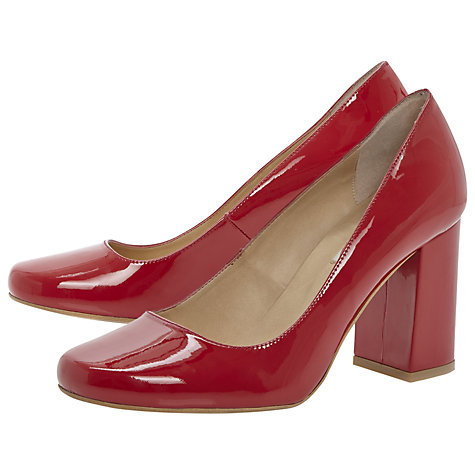 Buy Dune Agaze Block Heel Court Shoes Online at johnlewis.com