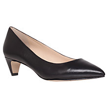 Buy Nine West Fanesa Kitten Heels, Black Online at johnlewis.com