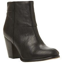 Buy Dune Nins Zipped Ankle Boots Online at johnlewis.com
