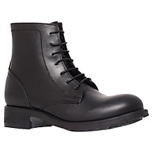 Buy Kurt Geiger Soloman Ankle Boots, Black Online at johnlewis.com