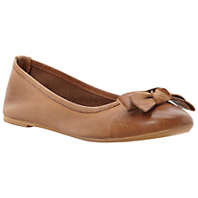 Buy Bertie Momos Ballerina Pumps, Tan Online at johnlewis.com
