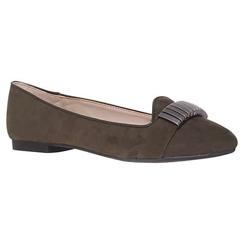 Buy Carvela Limpid Pumps, Khaki Green Online at johnlewis.com