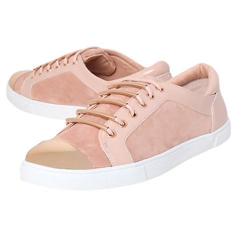 Buy Carvela Lollipop Low Top Trainers, Nude Online at johnlewis.com