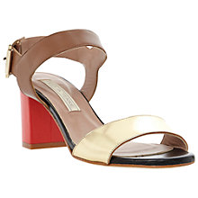 Buy Pied A Terre Jeni Colour Block Heeled Sandals Online at johnlewis.com