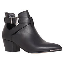 Buy Carvela Agnes Ankle Boots, Black Online at johnlewis.com
