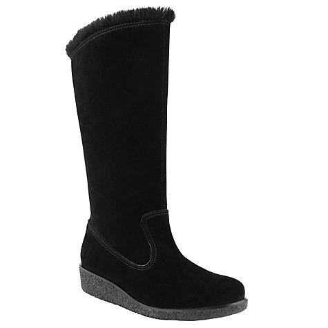 Buy John Lewis Gerri Faux-Fur Lined Knee Boots Online at johnlewis.com