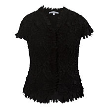 Buy Chesca Laser Cut Crush Blouse Online at johnlewis.com