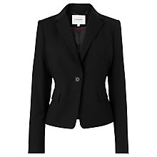 Buy L.K. Bennett Jodie One Button Jacket, Black Online at johnlewis.com