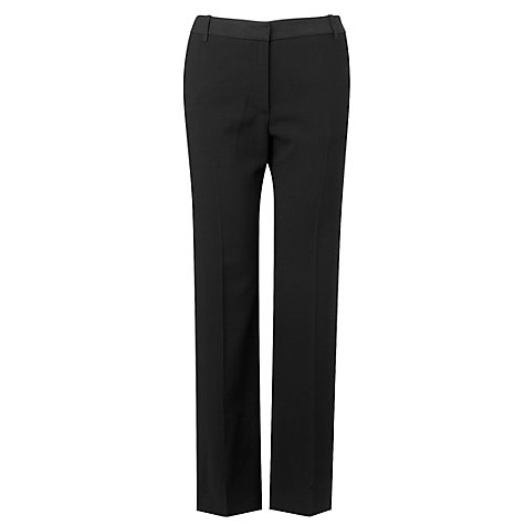 Buy L.K. Bennett Jodie Trousers, Black Online at johnlewis.com