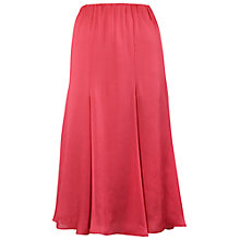 Buy Chesca Multi Panel Flare Skirt, Coral Online at johnlewis.com
