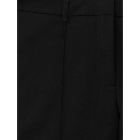 Buy L.K. Bennett Laris Tapered Leg Trousers, Black Online at johnlewis.com