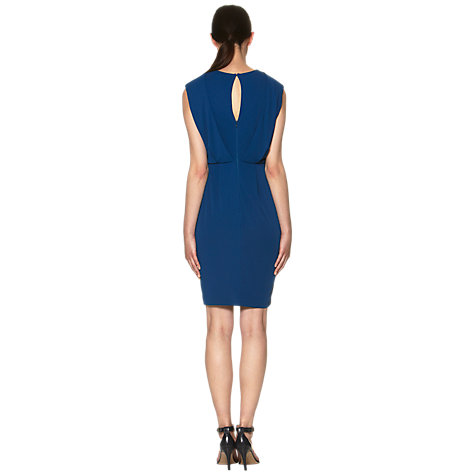 Buy Whistles Anita Dress, Blue Online at johnlewis.com