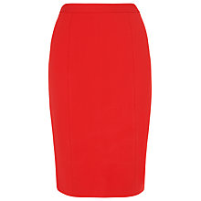 Buy L.K.Bennett Gail Pencil Skirt, Poppy Online at johnlewis.com