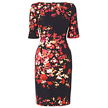 Buy L.K. Bennett Leticia Printed Dress, Red Online at johnlewis.com