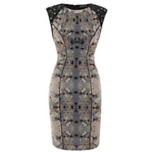 Buy Mint Velvet Lou Bodycon Lace Dress, Multi Online at johnlewis.com