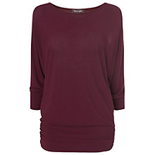 Buy Phase Eight Dana Top, Oxblood Online at johnlewis.com
