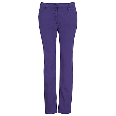 Buy Betty Barclay Denim Jeans, Ultra Violet Online at johnlewis.com