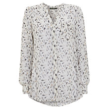 Buy Mint Velvet Tessa Print Blouse, Multi Online at johnlewis.com