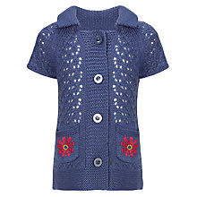 Buy John Lewis Girl Short Sleeve Cardigan Online at johnlewis.com