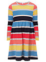 John Lewis Girl Striped Jersey Dress, Multi