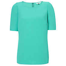 Buy COLLECTION by John Lewis Danielle Crepe Top, Green Online at johnlewis.com