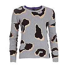 Buy Betty Barclay Double Knit Jumper, Grey/Black Online at johnlewis.com